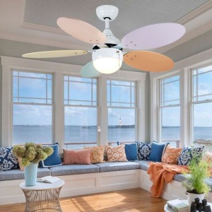 Colorful ceiling fan (UNI-130)
