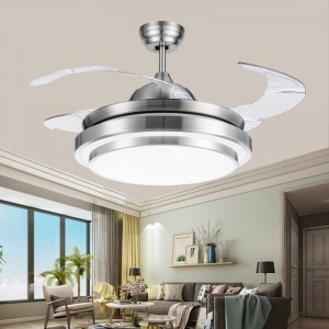 Invisible blade ceiling fan light(UNI-175-4)