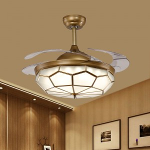 Ceiling fans with Led lamp (UNI-191)