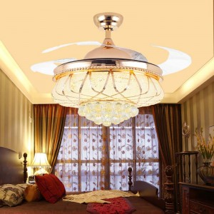 Crystal ceiling fan (UNI-199)
