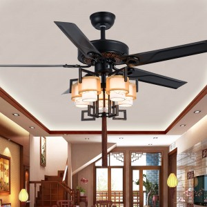 Decorative lighting ceiling fan (UNI-292)