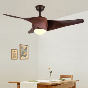 Ceiling fan with led light (UNI-210-1)