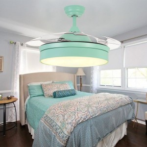 Remote control ceiling fan with light (UNI-179-1)