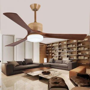 Solid wood ceiling fan (UNI-255-2)