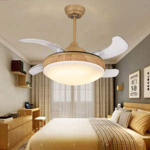 Invisible ceiling fan with led light (UNI-181)