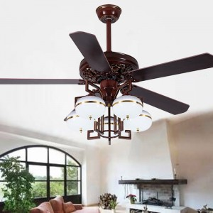 Chinese wooden ceiling fan factory(UNI-120)