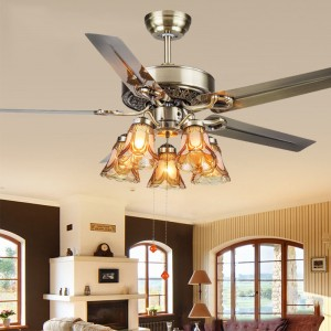 Decorative ceiling fans with lights (UNI-287)