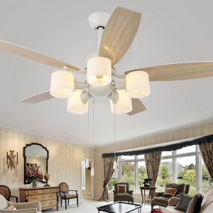 Decorative ceiling fans with copper motor (UNI-122)