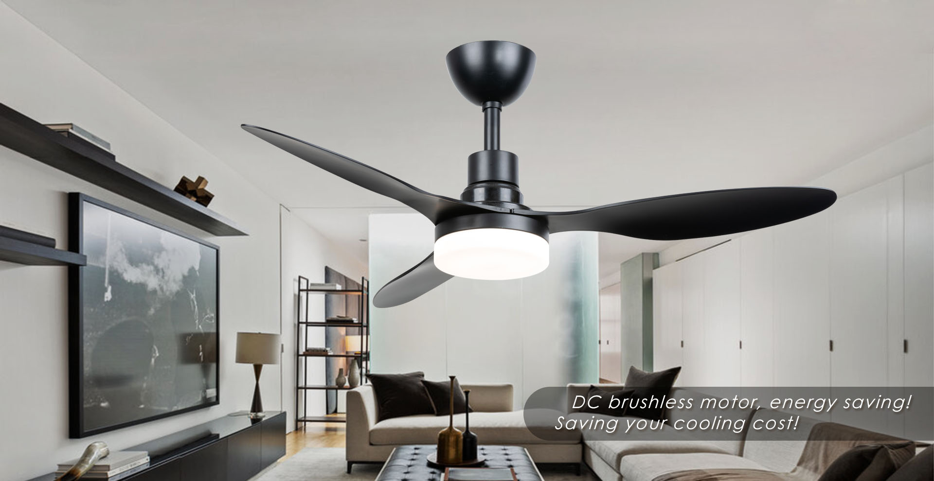 Led ceiling fan factory