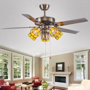 Decorative ceiling fan with lights (UNI-286)